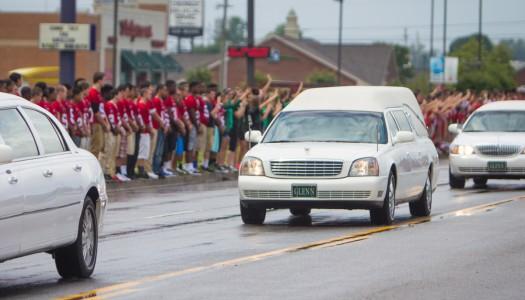 Hundreds Line Highway to Say Farewell
