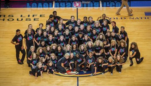 Musick Studio All-Stars Dance at WNBA Game