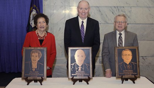 Joe Westerfield Inducted into Kentucky Teacher Hall of Fame