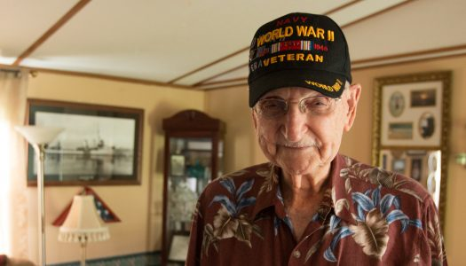 Albert Hall, WWII Veteran