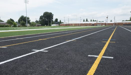 New Track at Owensboro Middle School Ready for Fall