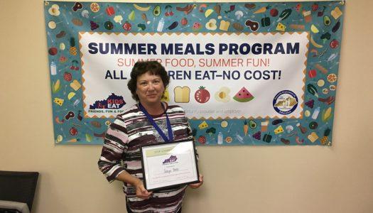 Barr Wins Summer Feeding State Award
