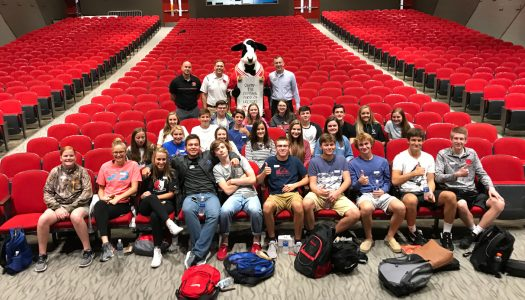 DCHS Students Kick Off ChickFilA Leader Academy