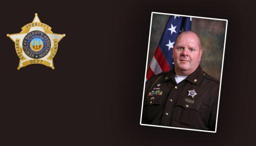 Major J.D. Marksberry Named Deputy of the Year