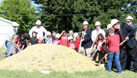 OPS Breaks Ground on Newton Parrish Expansion Project